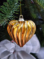 Christmas Decoration - Golden Heart