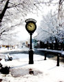Winter Photo - Clocks