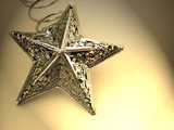 Christmas Decoration - Golden Star
