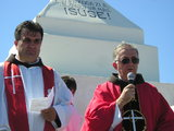 Dr. P. Ivan Sesar and Fr. Mate Dragicevic
