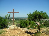 Cross where the first call for peace was given by Our Lady