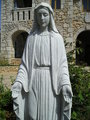 Statue of Our Lady statue at Castle of Patrick and Nancy