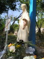 Our Lady statue at the smaller Blue Cross