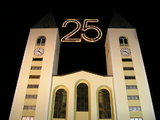 Medjugorje Apparitions 25 years at night