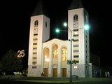 St. James Church at the night